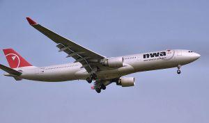 NWA plane