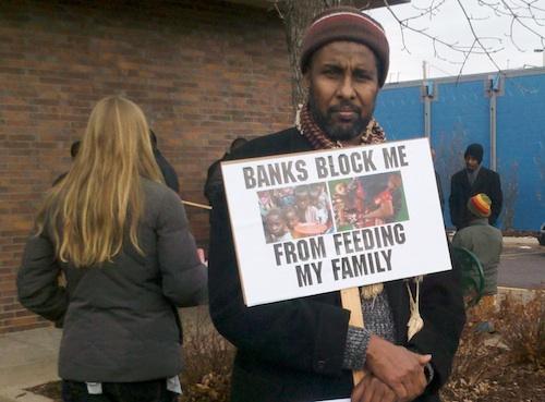 Hawala protest