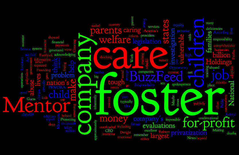 Kids pay the price: Turning foster care into a billion dollar business