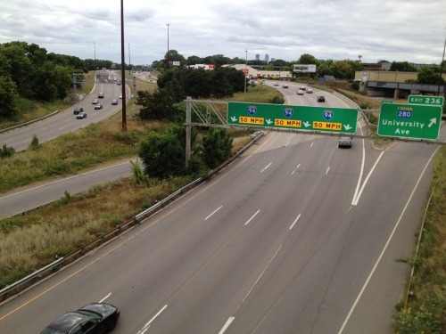 Freeway west from Pelham bridge.jpg