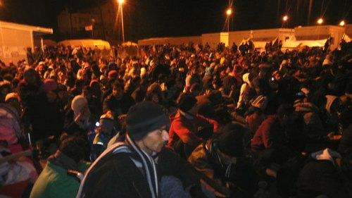 refugees in Samos