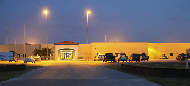 Photo of Karnes detention facility