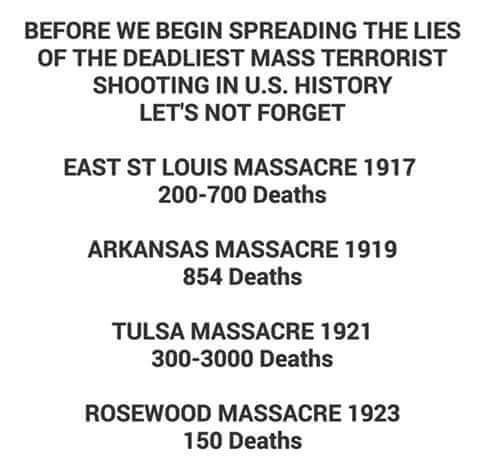 deadliest mass shootings