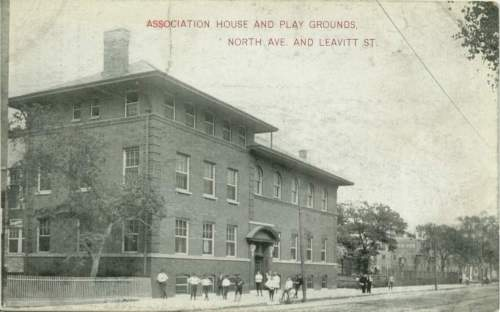 Association House and playground