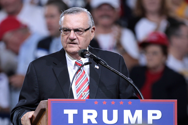 Joe Arpaio and Donald Trump have a lot in common