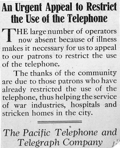 restrict telephone